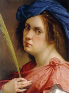 Artemisia-Gentileschi-Autorretrato